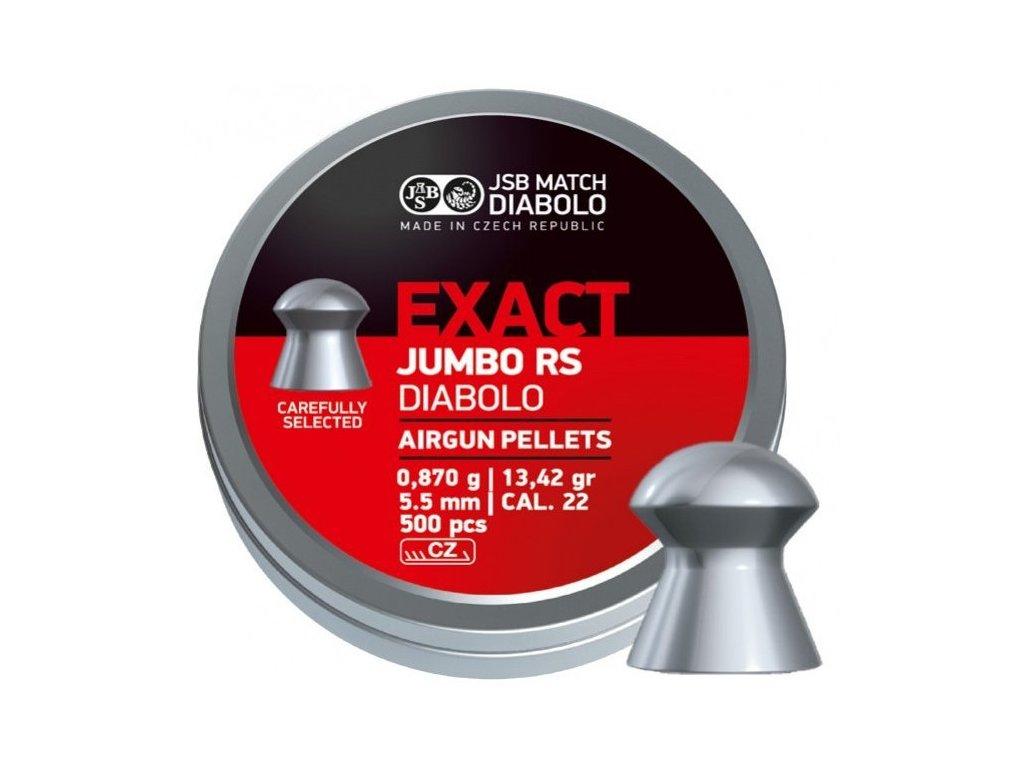 7782 1 diabolky jsb exact jumbo rs cal 5 52mm 500 ks
