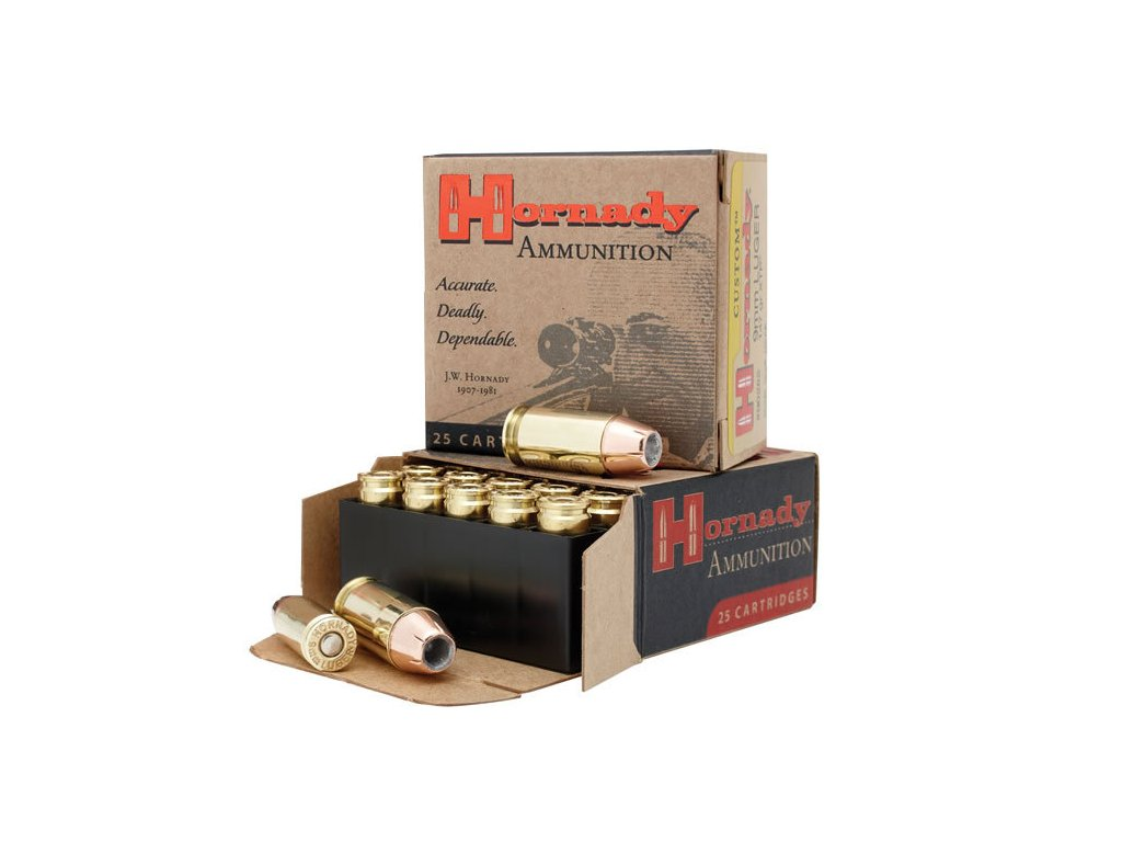 hornady custom 9mm luger 124gr xtp1