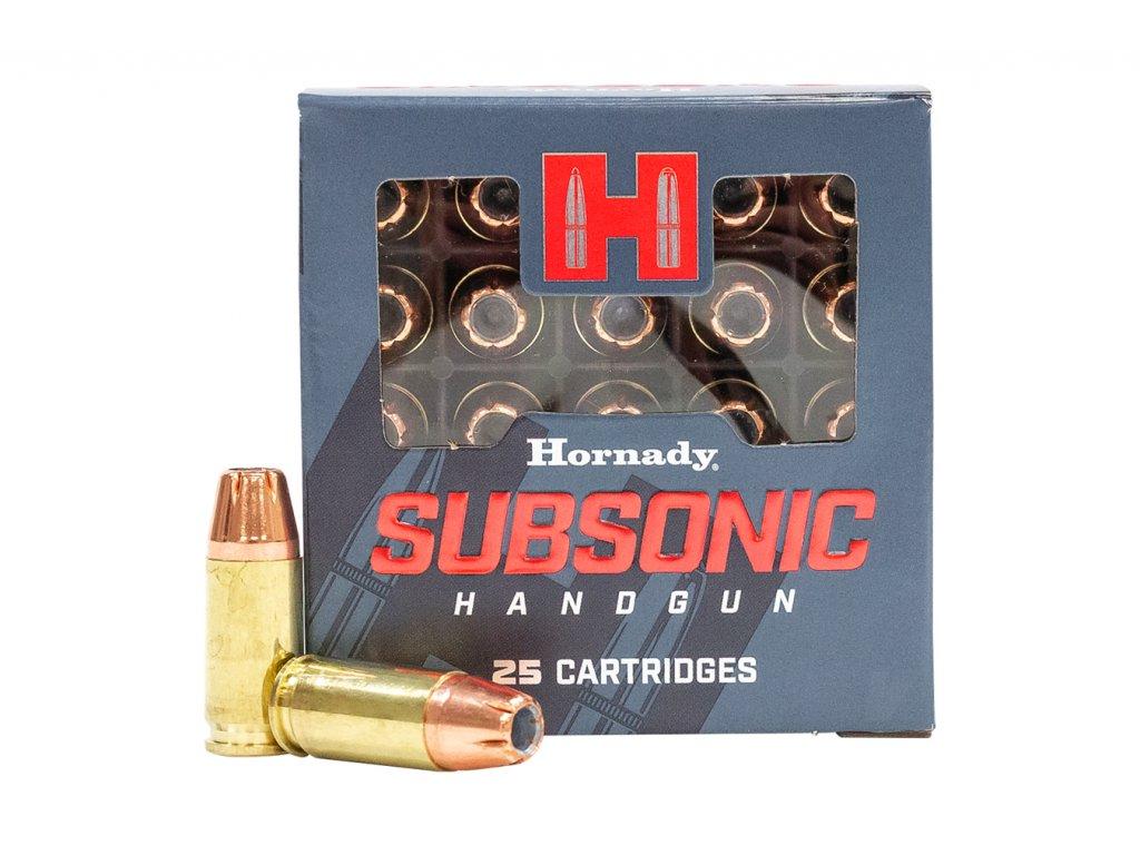 hornady subsonic 9mm luger 147gr xtp