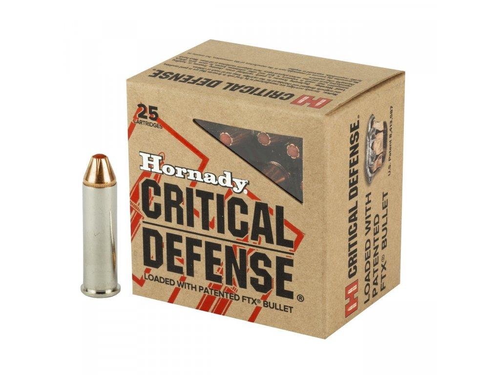 hornady critical defense 357 mag 125gr ftx