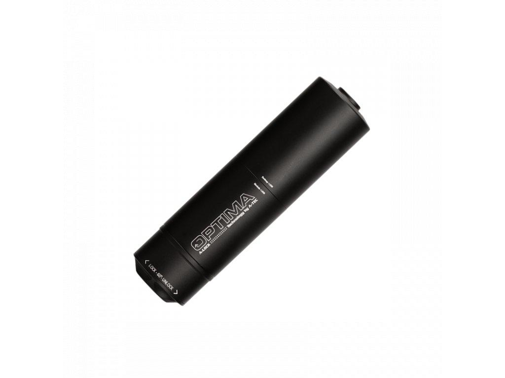 tlumic a tec optima 45 front modulovy pro raze do 30 7 62mm na adapter a lock mini