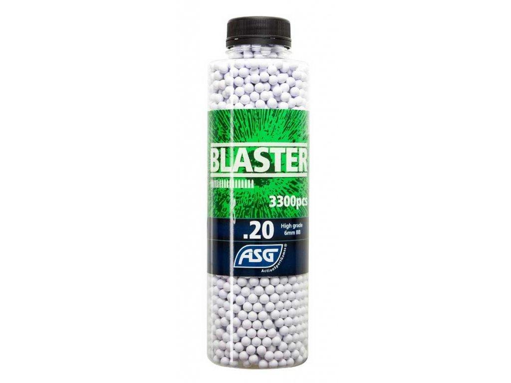 Plastové kuličky Airsoft 6mm 0,20g Blaster 3000ks