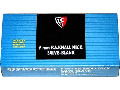 vyrn 168Poplasne naboje 9mm pistol Fiocchi