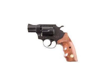 """Plynový revolver ALFA 2"""" černý, dřev. střenky cal. 9mm"""