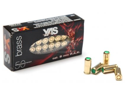 vyr 174Poplasne naboje 9mm pistol YAS Gold (1)