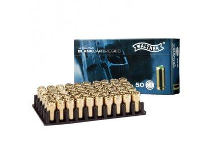 akustické náboje walther 9mm 50ks
