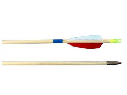 Dřevěný šíp Lazecký 8,7/760 mm H, peří
