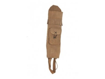 white feather water brown back quiver
