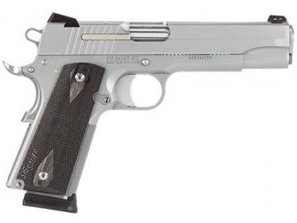 61291 sig sauer 1911 stainless target cal 45 acp