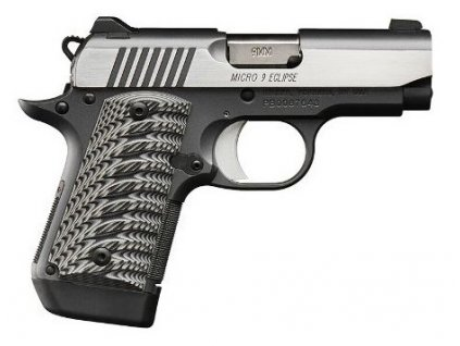 62104 kimber micro 9 eclipse 3 15 cal 9mm luger