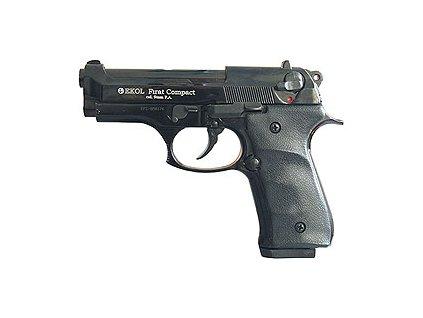 633 plynova pistole ekol firat compact cerna cal 9mm