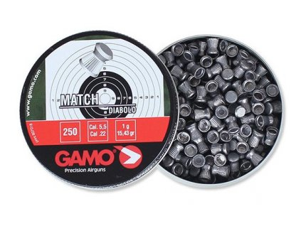 Diabolky Gamo Match cal. 5,5mm 250ks