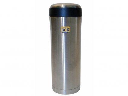 termoska thermal flask 400 ml silver