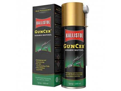 64652 ballistol guncer specialni olej na zbrane s keramikou 200ml