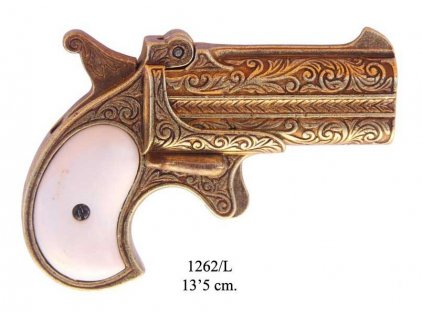 dvouhlavnova derringer pistole usa 1866
