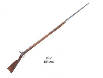francouzska puska s bajonetem francie 1806