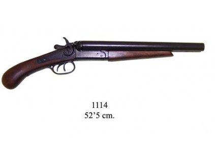 dvouhlavnova pistole usa 1881