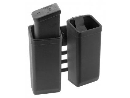 838 plastove pouzdro na dva zasobniky 9mm luger