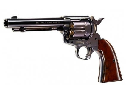 6960 1 vzduchovy revolver colt single action army saa 45 cerny