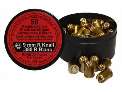 nabojka geco 9mm n 380 blank nitro revolver original