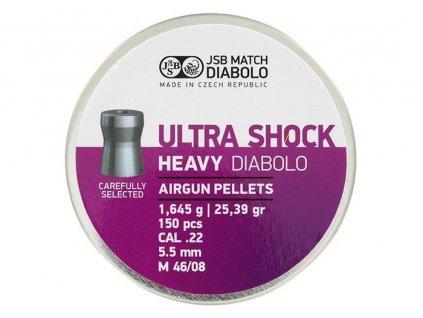 sb ultra shock heavy 5.5 mm 25.4 grain 150