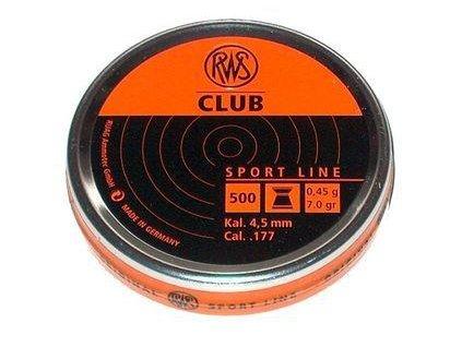 75875 1 diabolky rws club 4 5mm 500ks