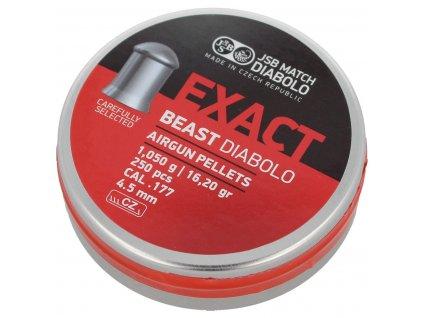tur pl Srut JSB Diabolo Exact Beast 4 52mm 250szt 546279 250 104811 1