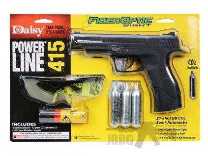vzduchova pistole daisy co2 bb