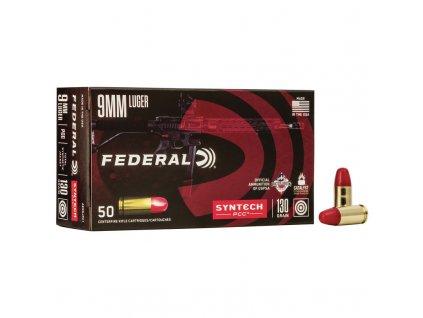 naboj kulovy federal american eagle 9mm luger 130gr syntech pcc pistol caliber carbine
