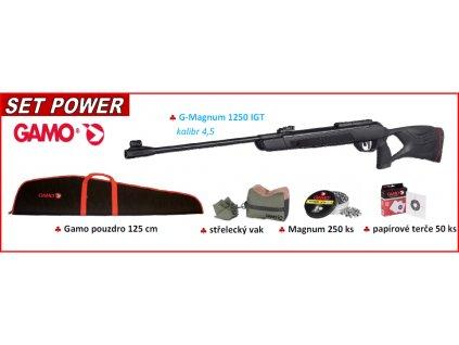 vzduchovka g magnum igt 1250 power set