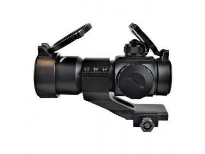 js tactical red dot 30mm lens black js 1x30rd