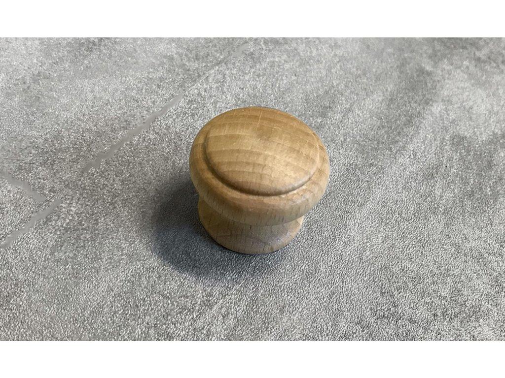 Dřevěná nábytková knopka JURA buk