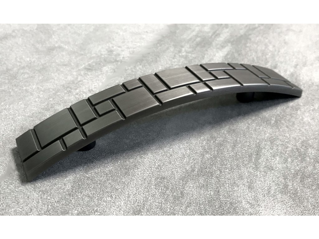 Nábytková úchytka SEKOL DS07-G16 černý nikl