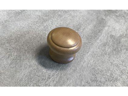 Dřevěná nábytková knopka JURA olše