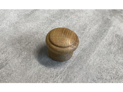 Dřevěná nábytková knopka JURA dub