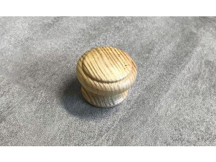 Dřevěná nábytková knopka JURA borovice