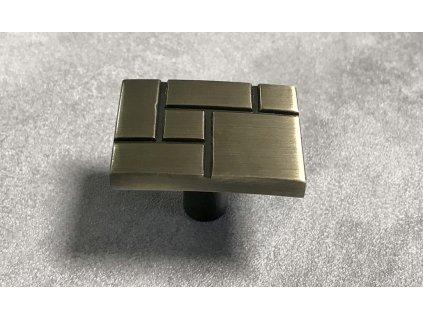 Nábytková knopka SEKOL KL07-AB staromosaz