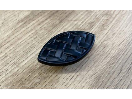 Rustikální nábytková knopka GM-324_P2 černá