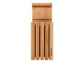 Bambusový stojan na 4 keramické nože, pro max. délku čepele 20 cm