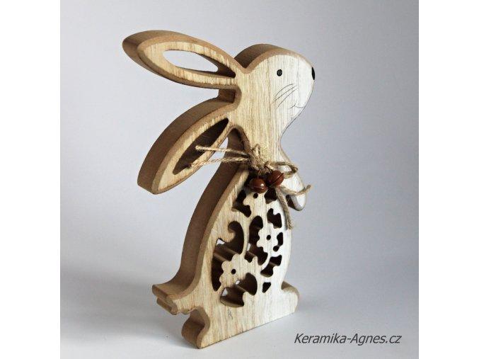 Králíček dřevěný