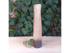 Štíhlá váza s knoflíčkem