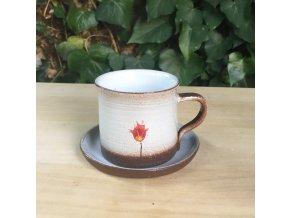 Hrníček na kávu se sakurou