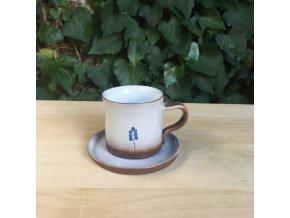 Hrníček na kávu s modřencem