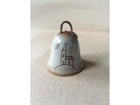 Zvoneček s kostelíčkem