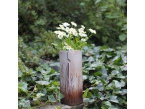 Nízká váza se stébly