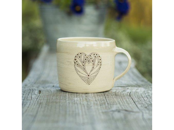 Srdce mozaika