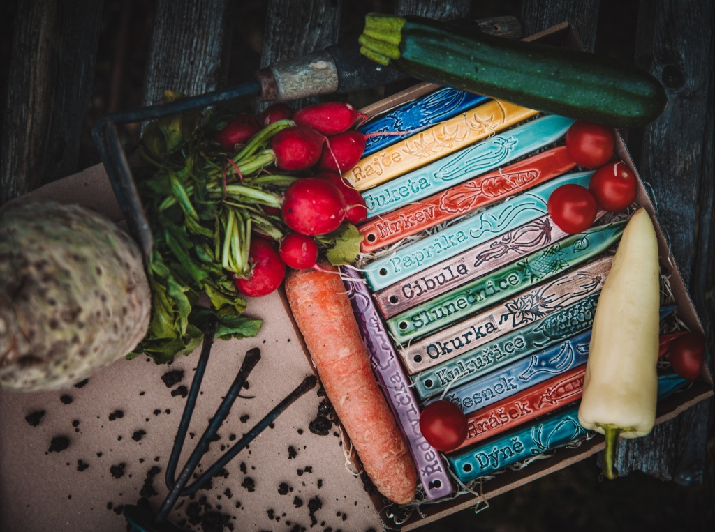 Nové zápichy na zeleninu