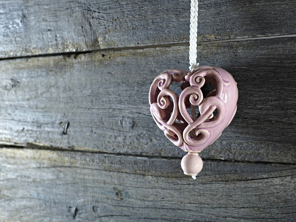 srdce lila