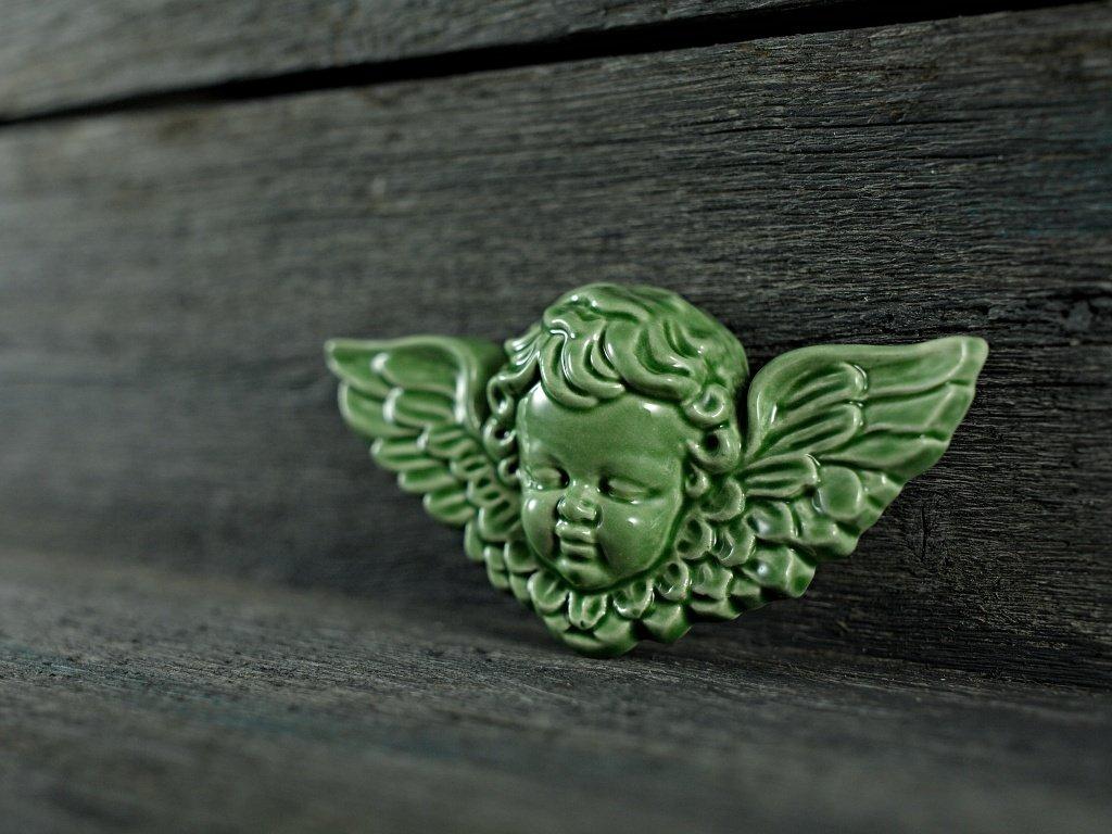andílek zelený