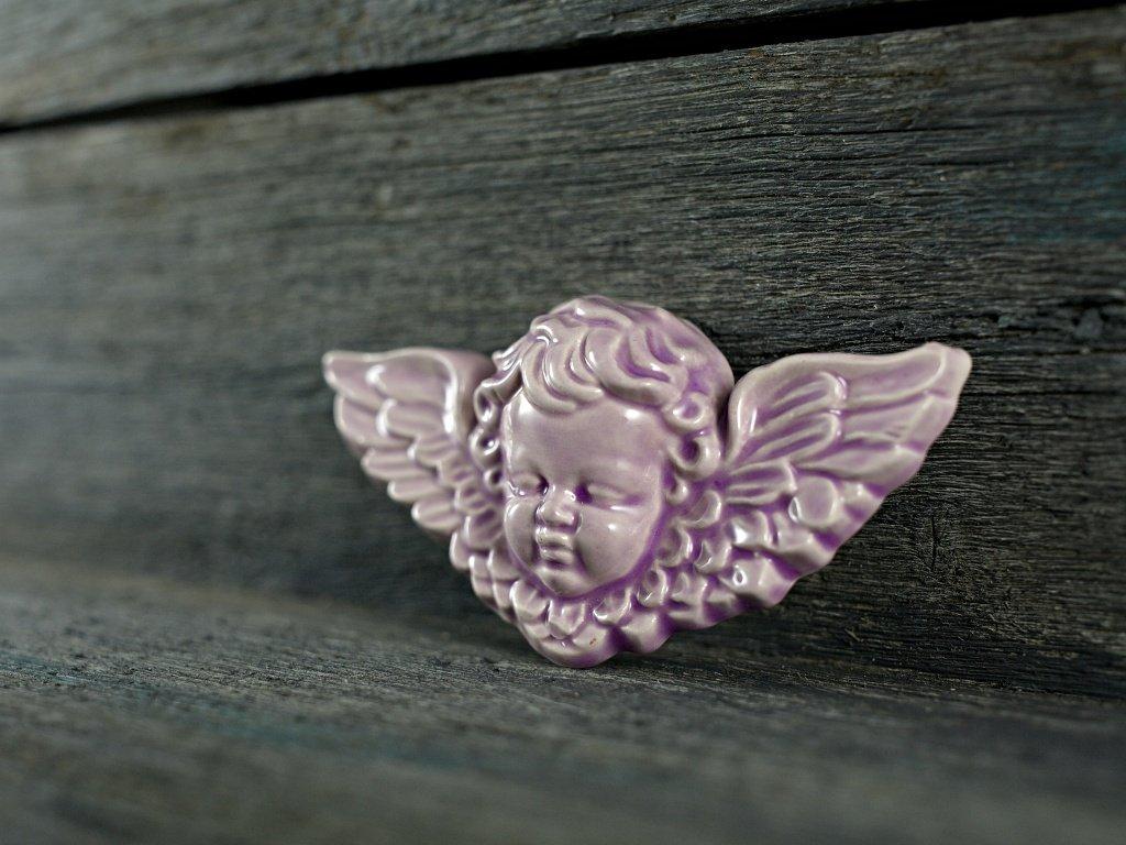 andílek lila
